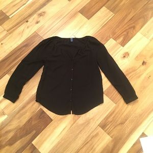 Old Navy S long sleeve button down shirt