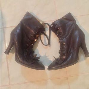 Dolce & Gabbana Brown Boots