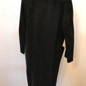 Vintage Jackets & Coats - Vintage 60's suede duster coat jacket