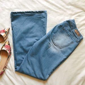 Denim - Flare Leg Jeans