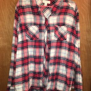 button down flannel forever 21