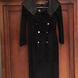 Leather Suede dress size S
