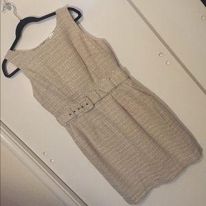 NWT BR Belted Sheath Dress