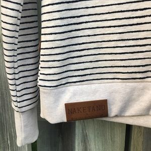 FINAL SALE Brand new striped Naketano hoodie