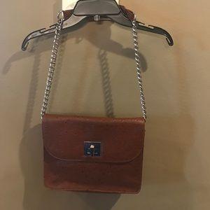 bcbg generation ostrich purse
