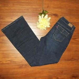 Levis 512 Perfectly Slimming Boot Cut Jeans Sz 12