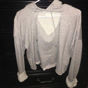 Brand new crop top sweatshirt for sale!