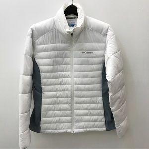 Columbia Sportswear White Puffer Jacket