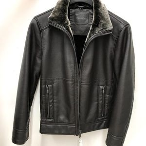 51e6a3e966f0 Calvin Klein Jackets & Coats - NWT Calvin Klein pebble faux shearling jacket