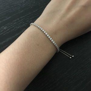 52d4216e5 Pandora Jewelry   Sparkling Strand Bracelet Clear Cz   Poshmark