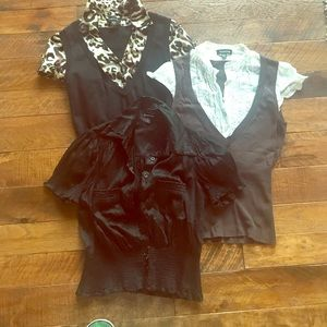BEBE blouse bundle!!!