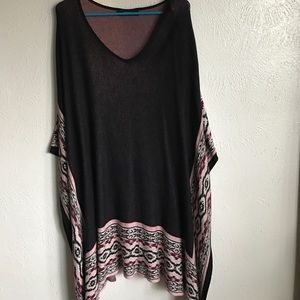 One size fits all tunic/poncho
