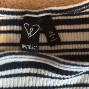 Striped bodycon dress from Windsor