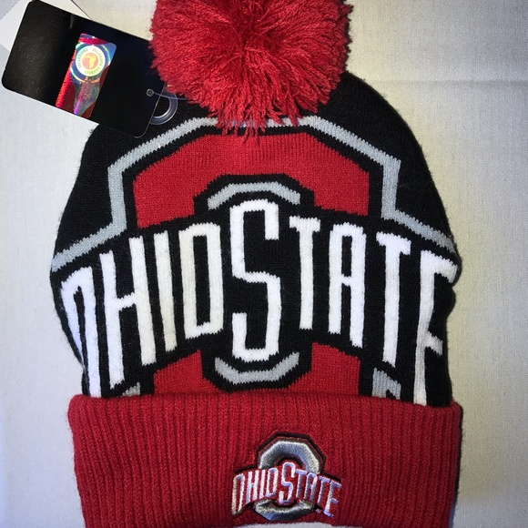 wholesale dealer d6433 be85c Ohio State Buckeyes knit hat NWT