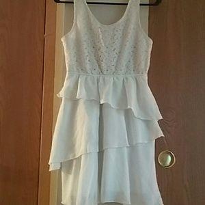 Size small white dress