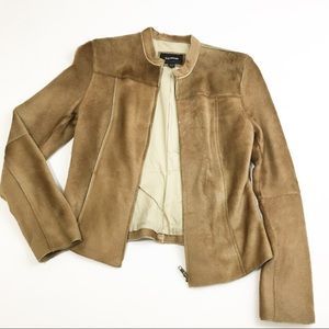 Express 100% Lamb Fur Blazer Jacket
