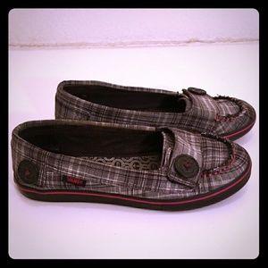 Vans Slip On Boat Shoes Plaid