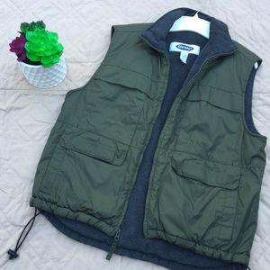 Olive Green Old Navy Vest (4 Pockets)