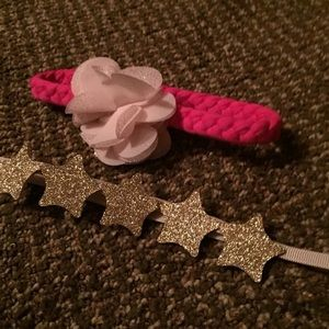 Set of 2 infant headbands