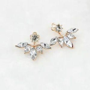 NWT Ear Jacket Earrings
