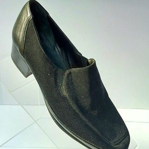 Rangoni Firenze Womens black suede/leather 4.5 C