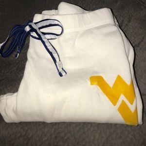 VS PINK West Virginia University Sweatpants