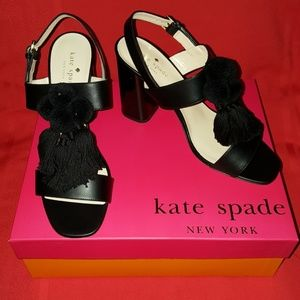 BRAND NEW KATE SPADE LEATHER SANDALS SHOE 8 MINT