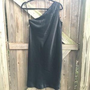One-shoulder Little Black Dress, Banana Republic