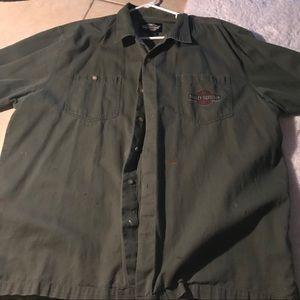 Other - Harley-Davidson Men's button shirt