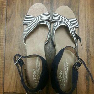 Toms Sandals 10w