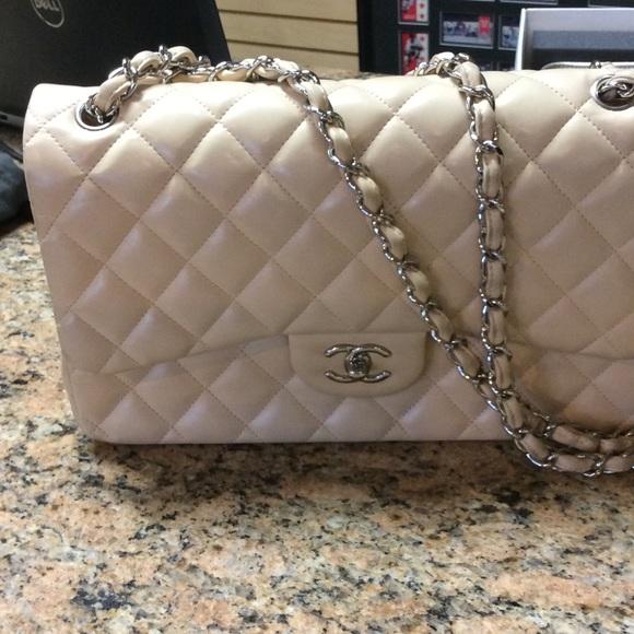 61d6505eacfca CHANEL Handbags - CHANEL jumbo XL double flap bag