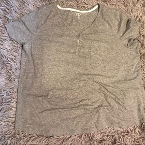 New Directions Pajama Top Plus Size