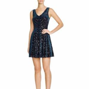NWT Aqua Velvet Burnout Dress Sz S