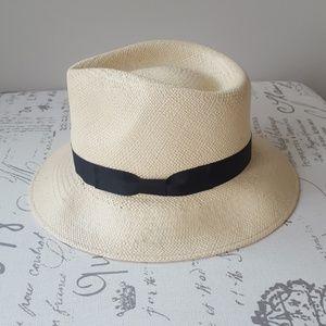 Stetson Retro Panama Straw Hat (S) (NWOT)