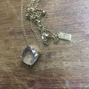 Kate Spade giant gem necklace