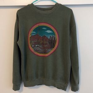Desert Scene Sweatshirt
