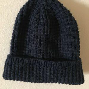 Cute little knit navy blue hat