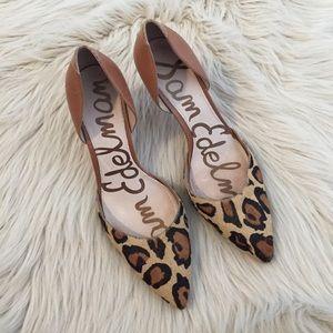 Sam Edelman Opal Leopard Leather Heels