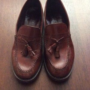 Cole Haan saddle brown leather penny loafers 7.5M