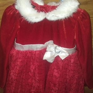 4T girls christmas dress