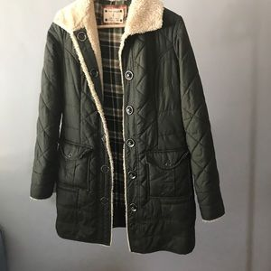 ❤️Green Free People fall transition jacket! ❤️