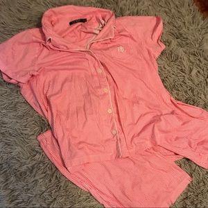 Lauren Ralph Lauren 2-Piece Pajama Set Plus Size