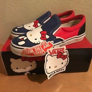Hello Kitty X Vans (Kids Sz 2)