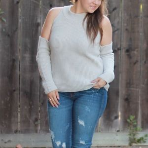 Missguided Cold Shoulder Sweater