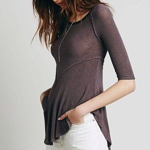 Free People Weekend Layering Top