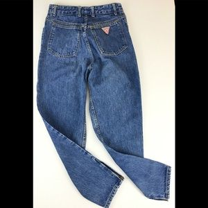 Vintage GUESS Highwaisted Jeans Side Ankle Zip