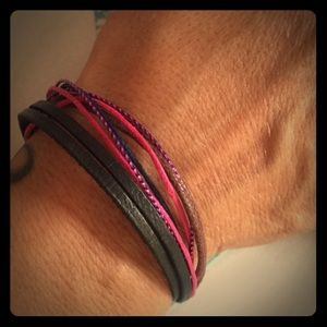 Little layered friendship cuff