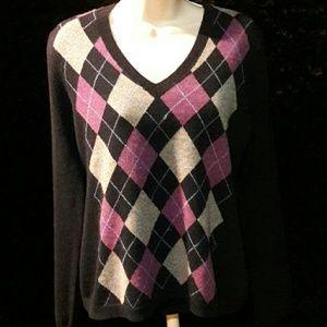 Cashmere Sweater size xl!