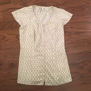 Banana Republic Satin Blouse XS