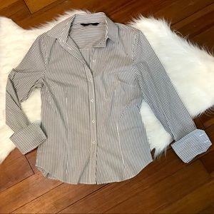 Zara Striped Button Down